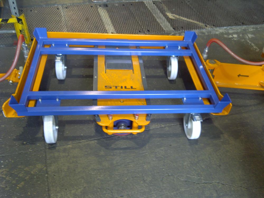 Gitterbox-szállító-keret